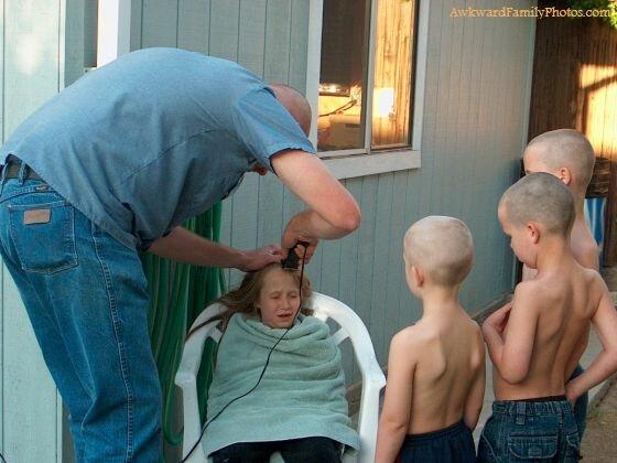 Семейные фотографии, которые стоило сжечь сразу после распечатки