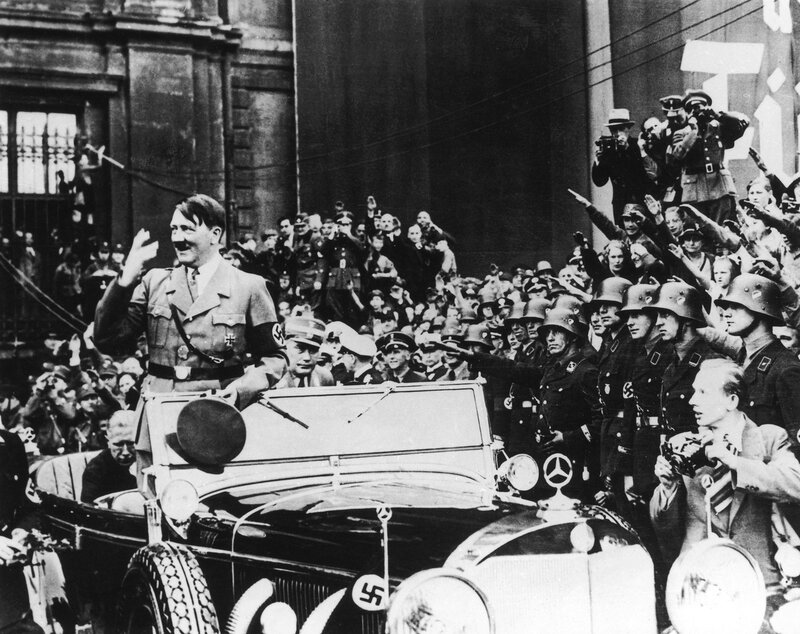 Hitler On May Day