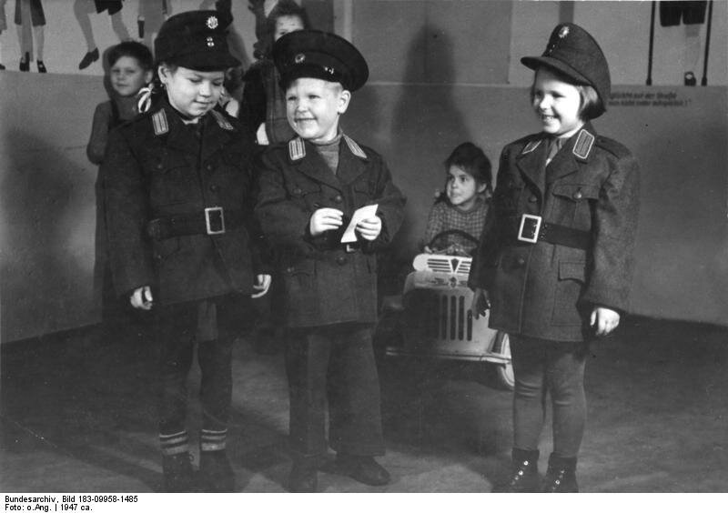 Kindergarten im Berliner Polizei-Prдsidium