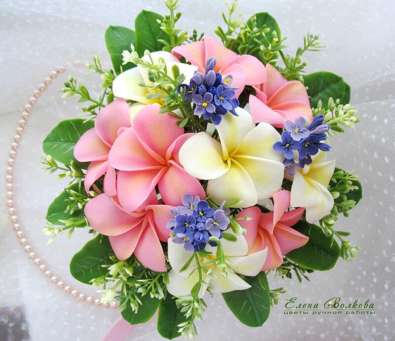 Цветы из полимерной глины картинки 3