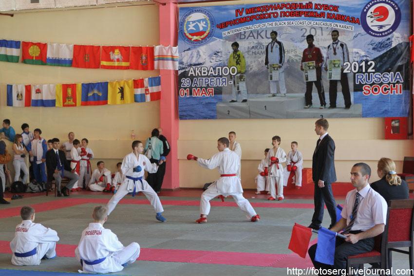 В сочи состоялись всероссийские соревнования по карате на кубок черноморского побережья кавказа