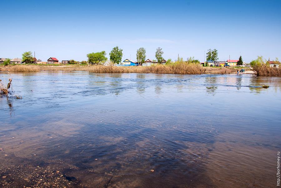 разлив мокши весной 2012
