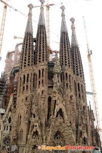 Sagrada Familia, Barcelona. A.Gaudi