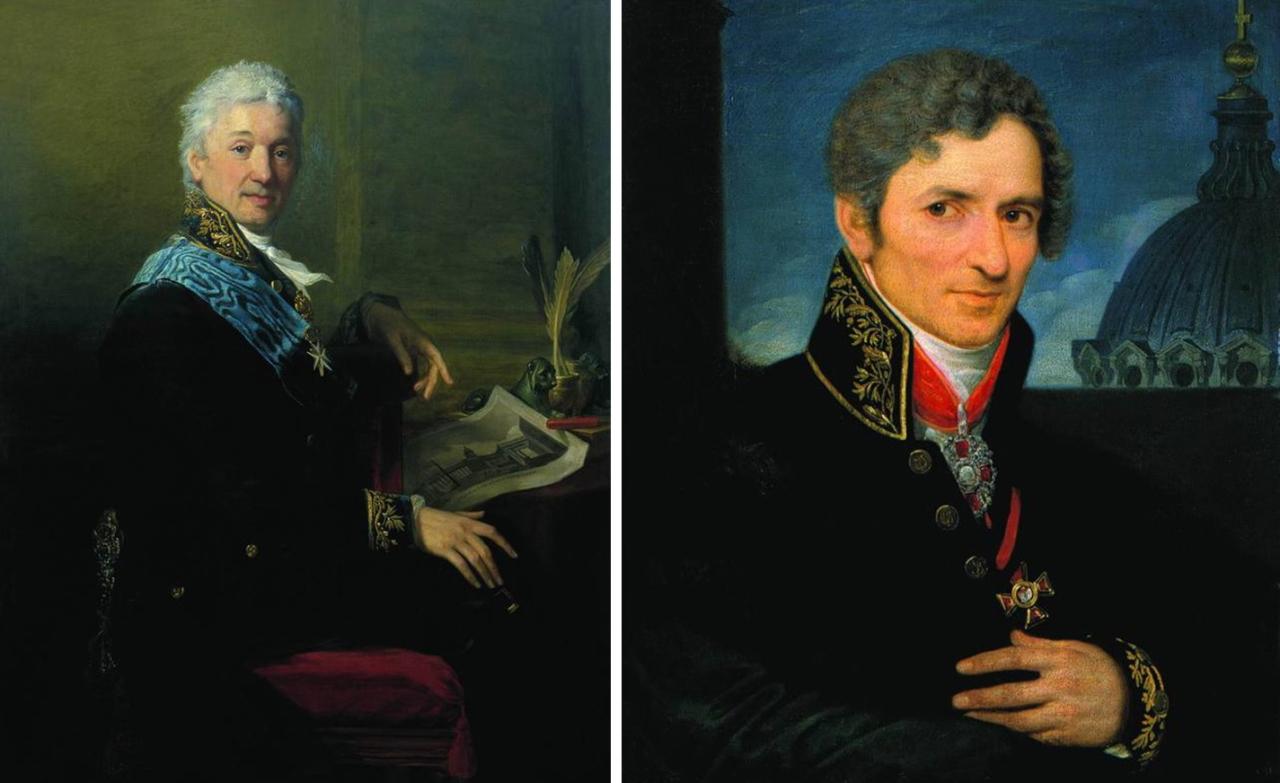 Воронихин и Строганов.JPG