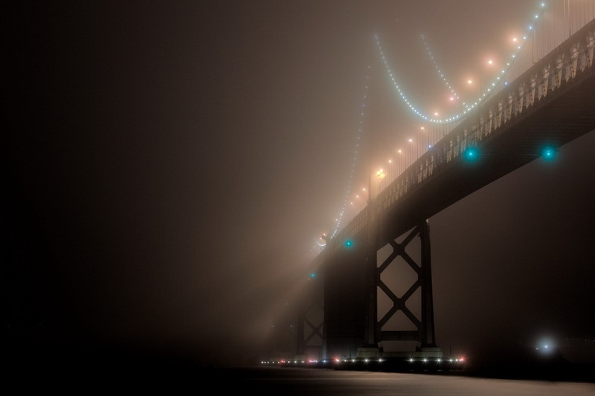 Красивые фотографии тумана в Сан Франциско, США 0 14226a 1088ab87 orig