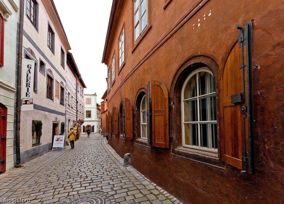 Съем на чешских улицах