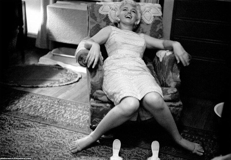 Ева Арнольд (Eve Arnold) серия портретов актрисы Мэрилин Монро