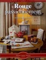 Книга Rouge, passionnément... Broderie-Appliqué-Couture. jpg  106Мб