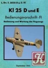 Книга Klemm Kl 25 D und E Bedienungsvorschrift-FI