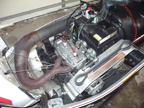 Yamaha Enticer Horsepower