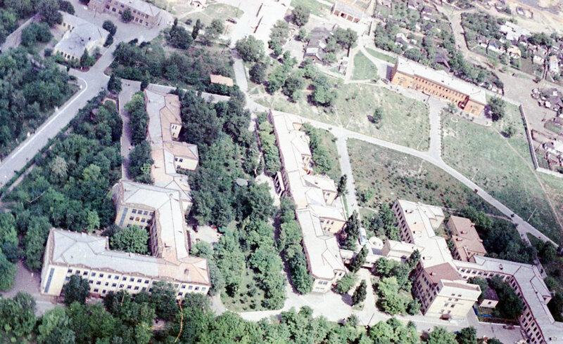 17. Донецк. Аэрофотосъемка начала 1960-х