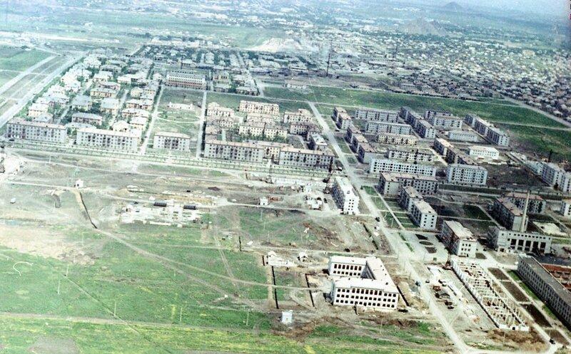 26. Донецк. Аэрофотосъемка начала 1960-х