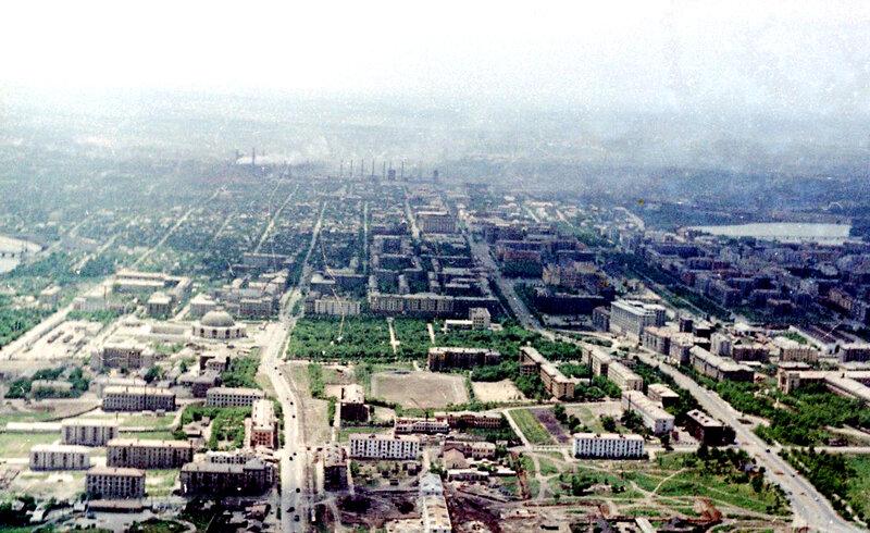 35. Донецк. Аэрофотосъемка начала 1960-х