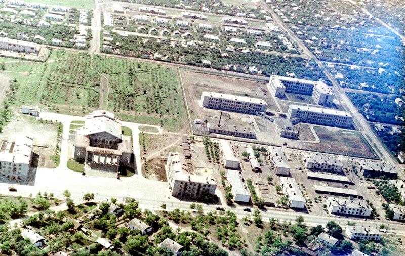 44. Донецк. Аэрофотосъемка начала 1960-х