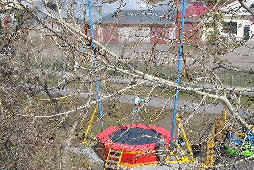 Открытие горсада 1 мая в Куйбышеве, Аспект