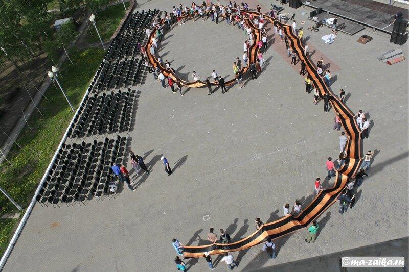 Акция 'Наследники Победы - Хранители Победы', Саратов, парк Победы, 08 мая 2012 года