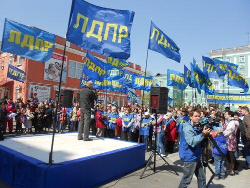Славгородские власти пытаются помешать ЛДПР провести митинг