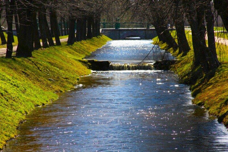 Канал в Колонистком парке