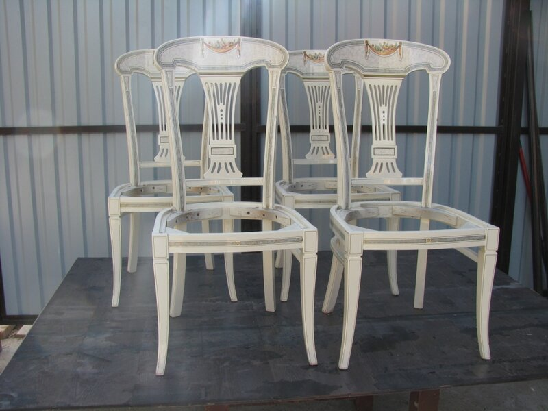 Роспись стула мастер класс