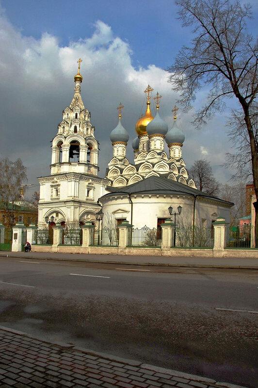 Храм святителя Николая Мирликийского Чудотворца в Пыжах.