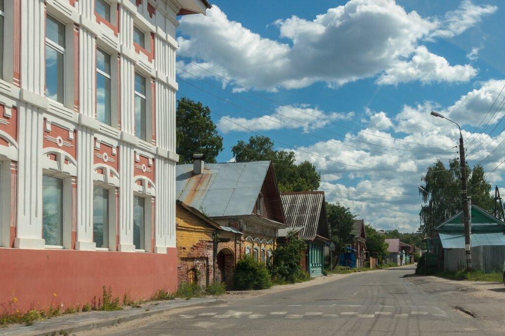 Старые дома в Городце