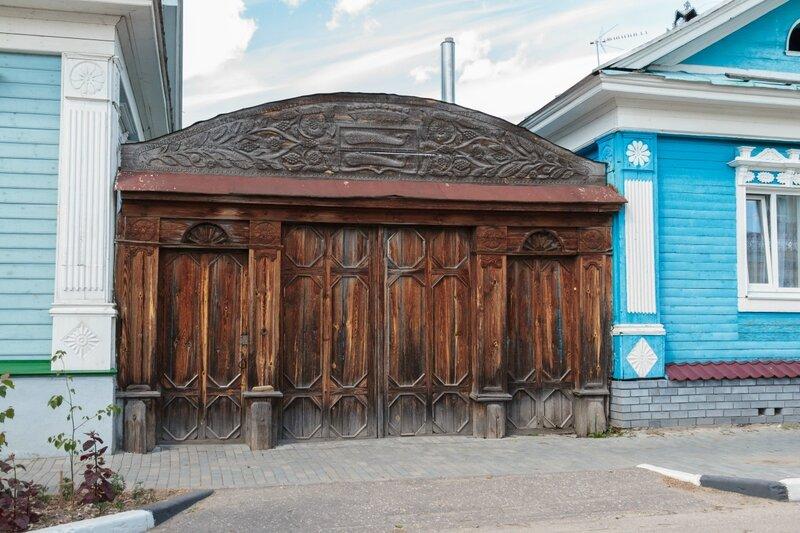 Ворота, Городец