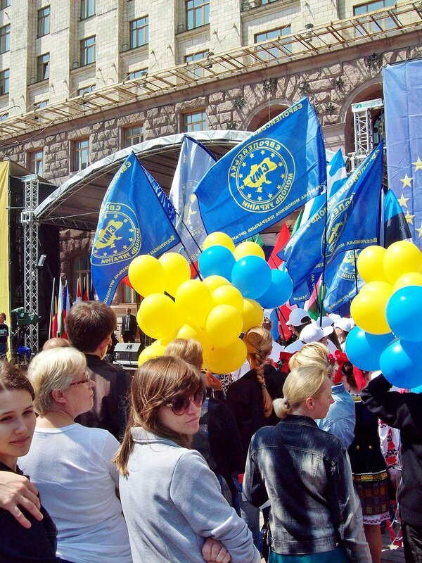 Открытие Дня Европы 2012 в Киеве