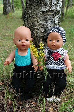 топы для куклы Baby Born