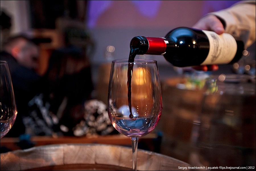 Вино в полете