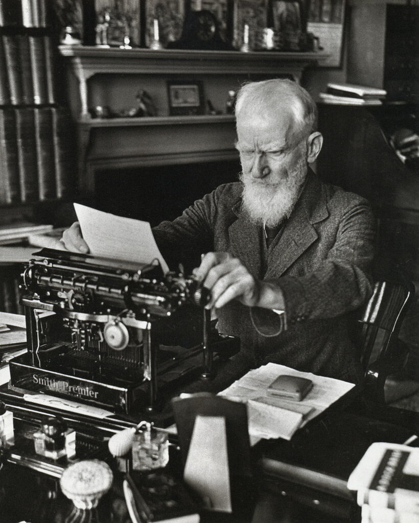 George Bernard Shaw, London, 1932