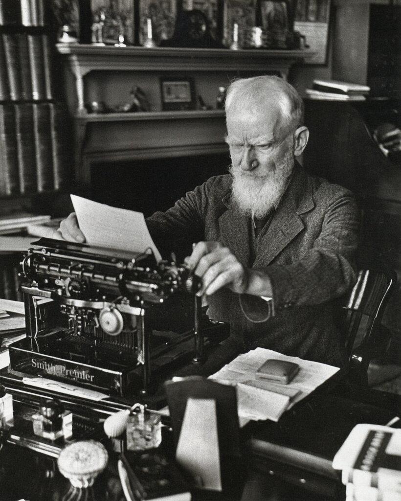George Bernard Shaw, London, 1932