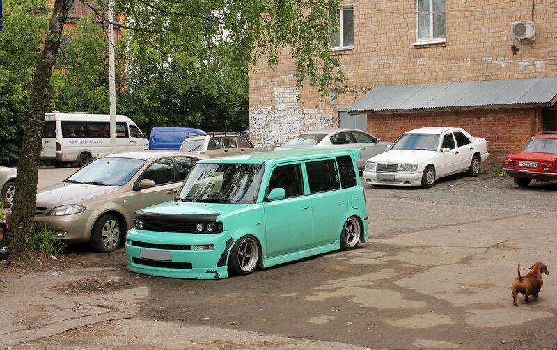 Забавная машина в Дедовске,