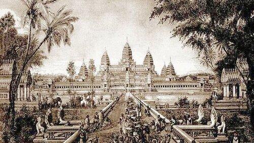 фото Ангкор Ват в XII веке