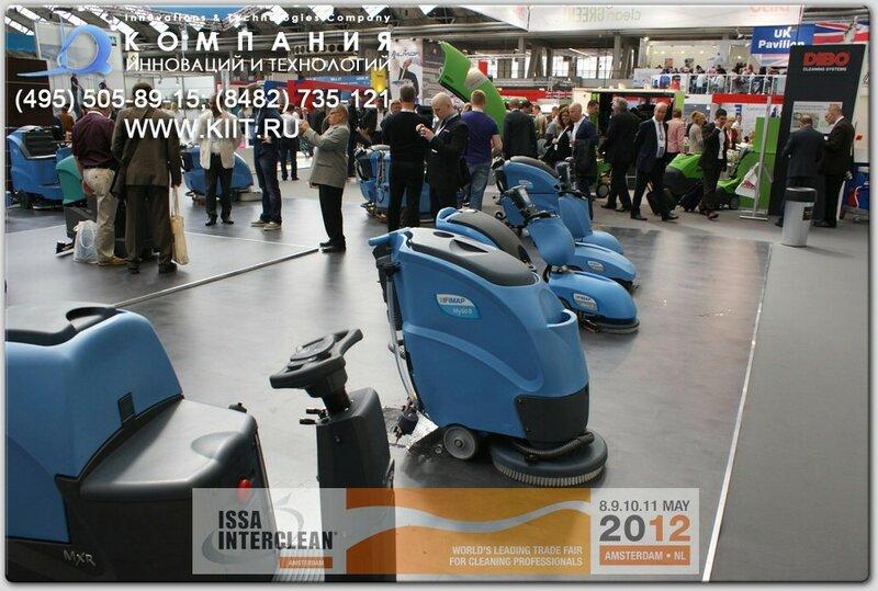 Поломоечные машины от итальянского производителя FIMAP