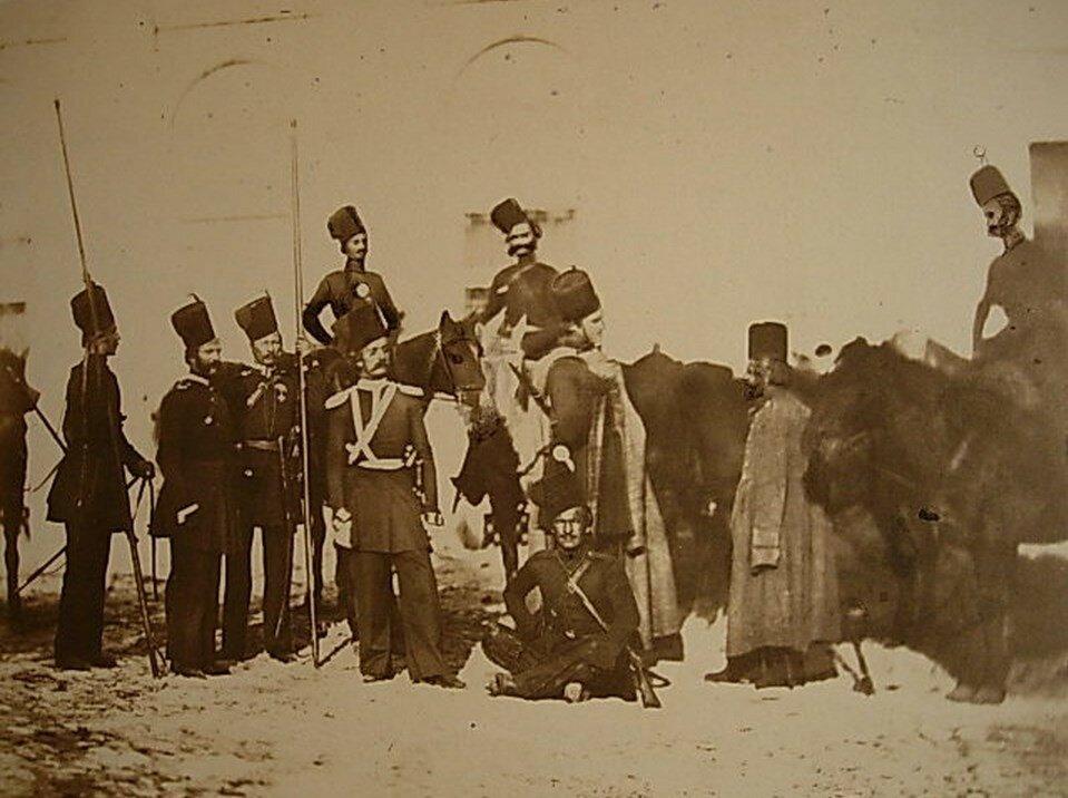 Казаки в Придунайской области. Весна 1854 года