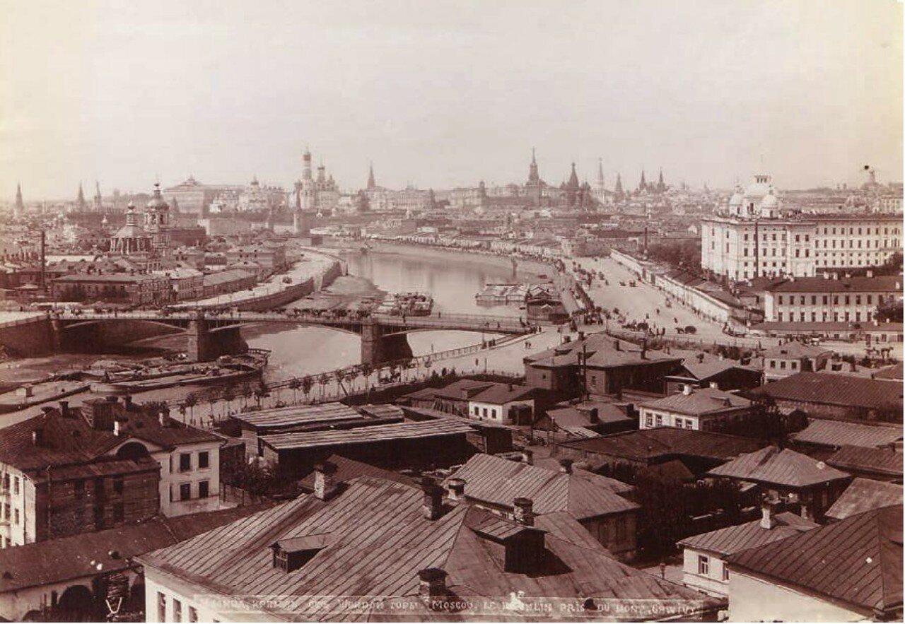 615. Панорама Москвы. 1890-е