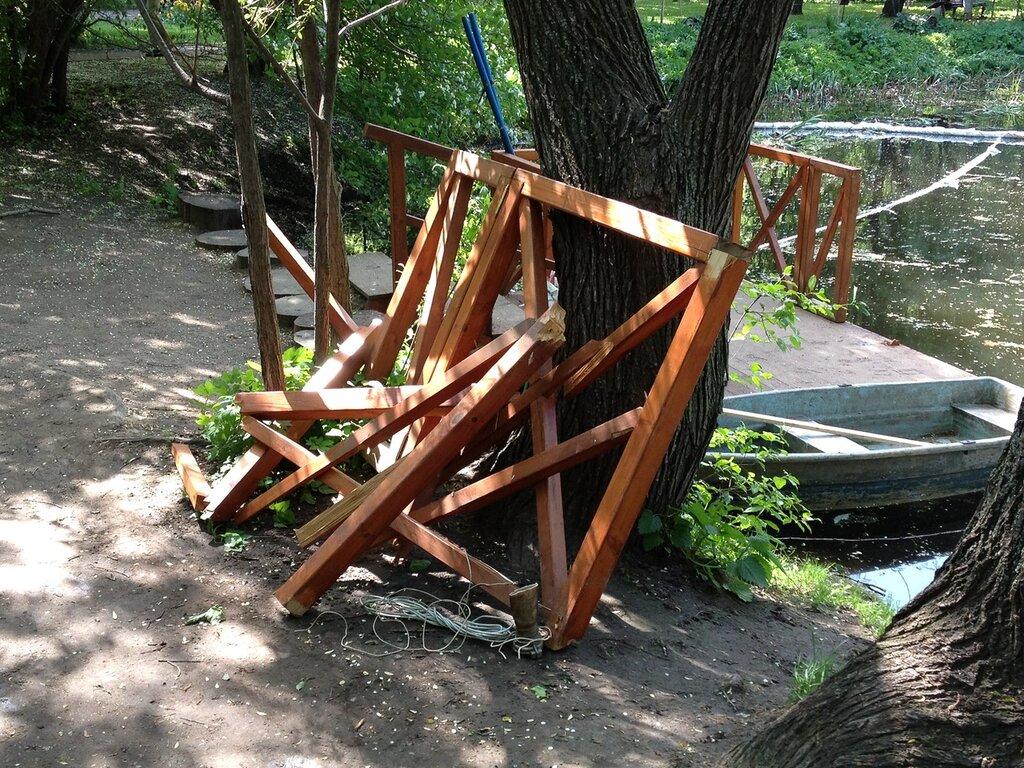 Очистка пруда 2012.05.16-17