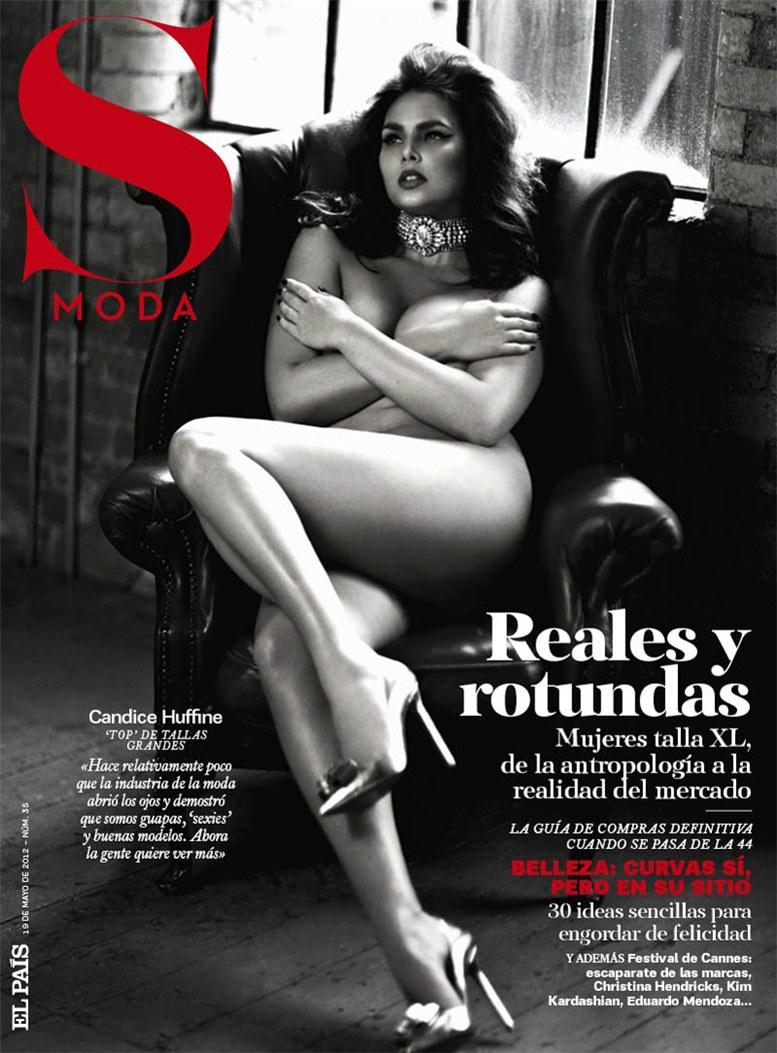 Candice Huffine / Кэндис Хаффин, фотограф Damon Baker в журнале S Moda, май 2012