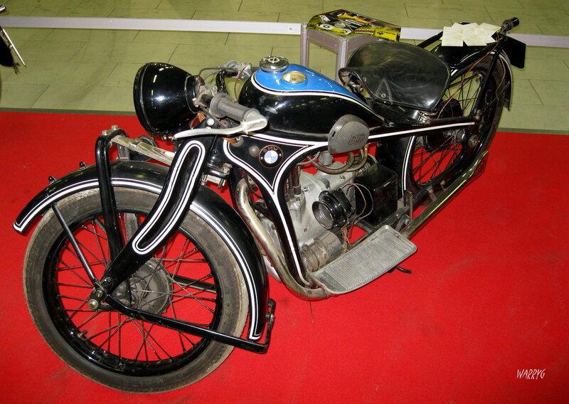 Ретро зона. Немецкий мотоцикл BMW R2 1932 г.
