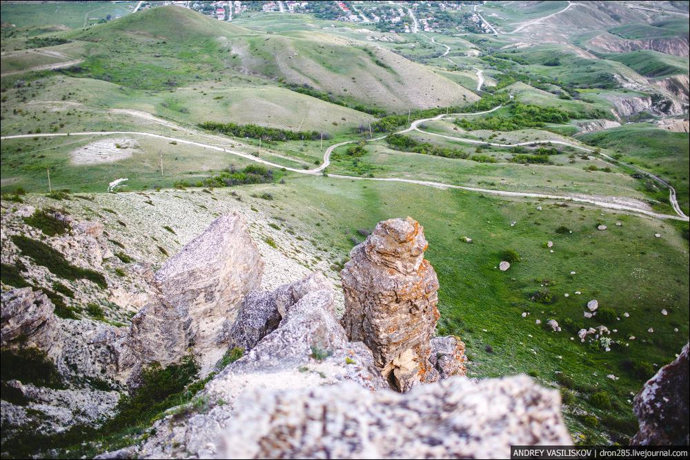 Горы около Коктебеля