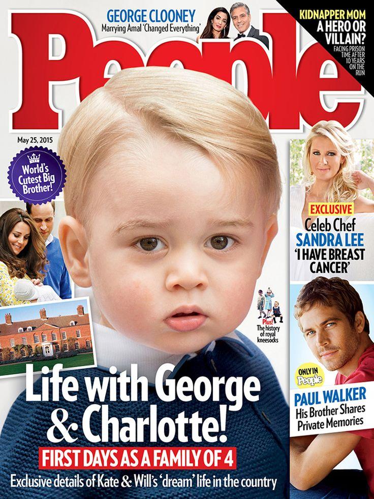 Принц Джордж герой журнала People