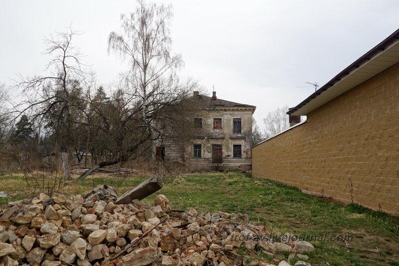 Западный флигель. Усадьба Петровское-Княжищего Демидовых-Мещерских