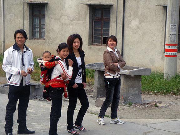Китайская деревенская молодежь