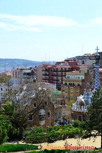 Barcelona, Park Guel, Gaudi