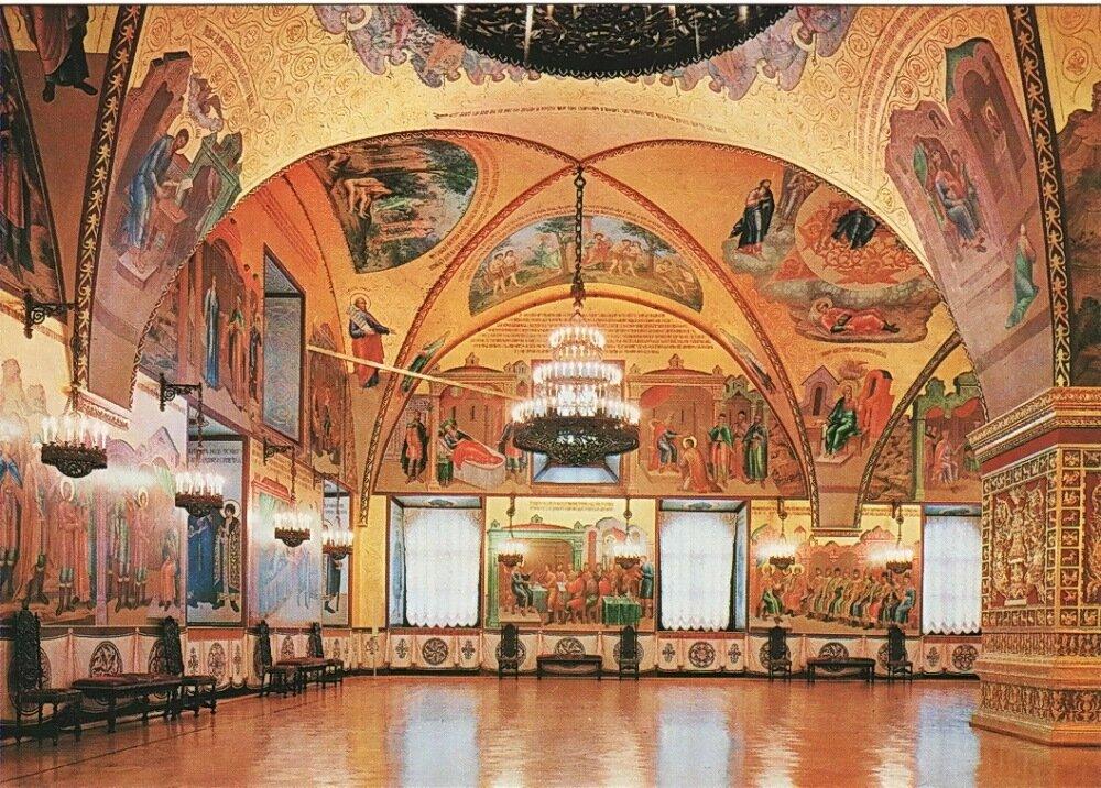 Экскурсии в палаты кремля