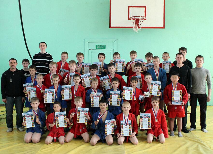 Победители и призёры Первенства города 2012