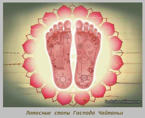 Sri Chaitanya Lotus Feet