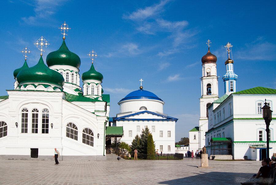 Моя поездка в Казань. Раифский монастырь
