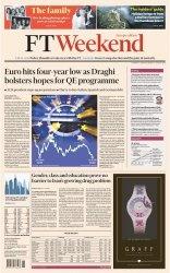Журнал Financial Times Europe - 3-4 January 2015