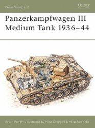 Книга Osprey-New Vanguard 027 - Panzerkampfwagen III-Medium Tank 1936-44